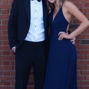 Navy blue formal dress!